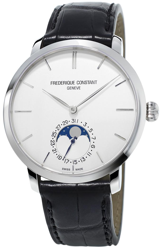Manufaktur Slimline Moonphase Watch Jewelery Design Harald Burger